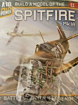 New 2020 = Build A Model Of The Spitfire Scale 1:18 - Hachette - # 11