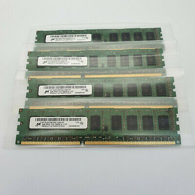 Micron MT18JSF25672AZ-1G4G1ZF 2GBx4 8GB  PC3-10600E DDR3-1333 ECC Server RAM