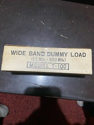 Toyo Meter Wide Band Dummy Load Model T-100