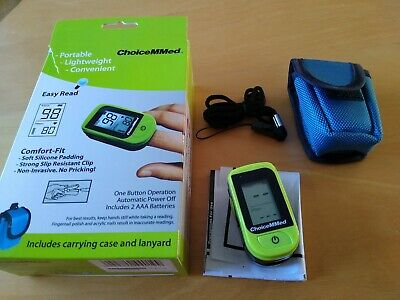 ChoiceMMed  Pulse Oximeter MD300C15D tested new batteries one with it DOA