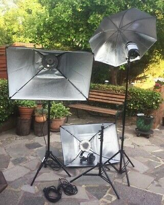 Photographic studio continuous lighting equipment
