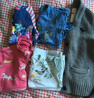 Girls Bundle Age 7 (5 Items) Joules Abercrombie next
