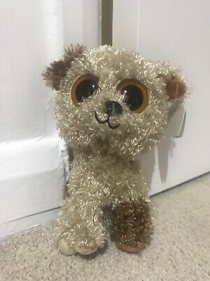 """Ty Beanie Boo/boos Rootbeer the dog 6"""""""