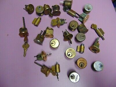 28   Mortise,Rim And Knob Locks   Cylinders  Some With  Key.          Locksmith