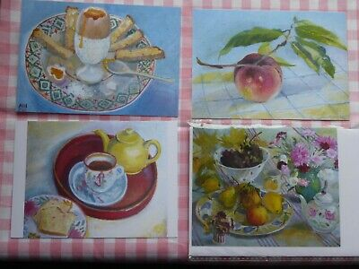 MARY MacCARTHY POSTCARDS & CARD SHOWING EMMA BRIDGEWATER POTTERY - NEW