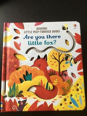Brand new -Usborne Are You There Little Fox 🦊