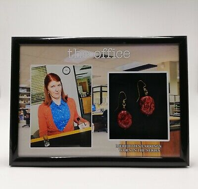 The Office Merediths Earrings Prop Display Used Worn Coa Dunder Mifflin