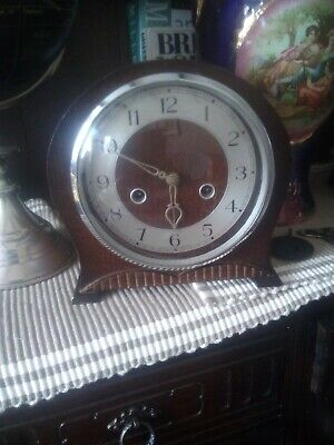 Vintage smiths mantle clock good w/o