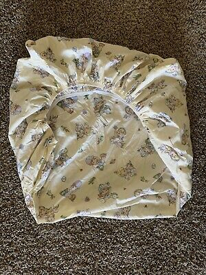 📍Very cute Precious Moments Fitted Crib Sheet