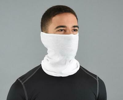 5 Pack Blank White Sublimation Neck Gaiter - US Shipping Same Business Day!!!