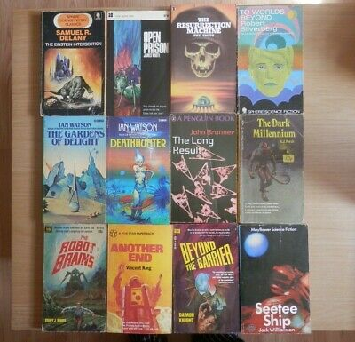 Joblot Vintage Science Fiction Books Fantasy Damon Knight Delany Silverberg
