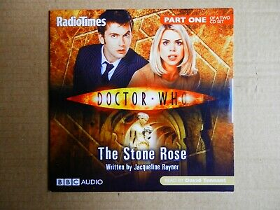 Doctor Who The Stone Rose x 2 Audiobook CDs Science Fiction Fantasy