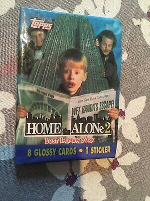 Sealed bubble gum pack / wax / trading card - Home Alone 2 Lost In New York