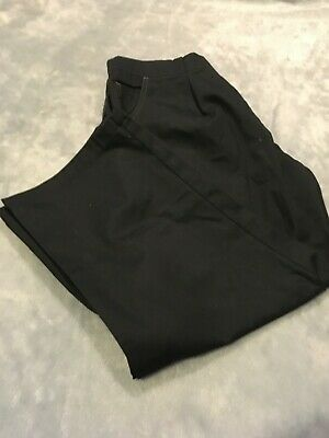 ChefUniforms Womens Black Work Pants  Size XLarge