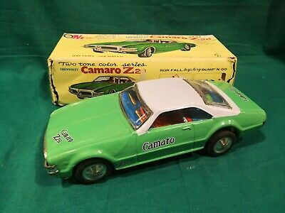 Tin Toys Zinn Chevrolet Camaro Z28 Made IN Taiwan Cm. 25