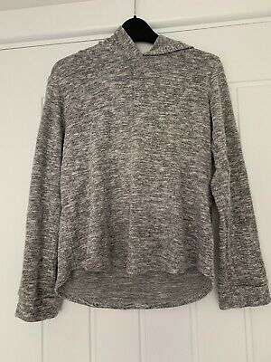 In Good Condition Girls Grey Sports Hoodie Age 10 Years From Matalan