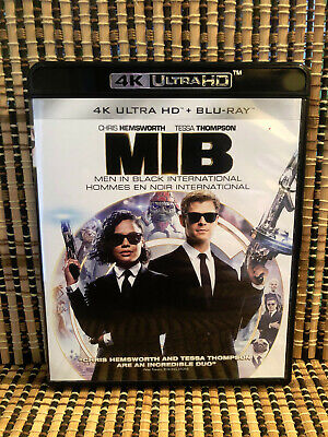 Men In Black 4: International 4k (1-Disc Blu-ray, 2019)MiB.Chris Hemsworth