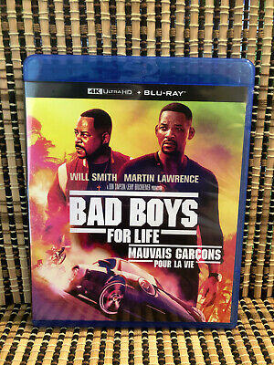 Bad Boys For Life (1-Disc Blu-ray, 2020)Will Smith/Martin Lawrence.Part 3