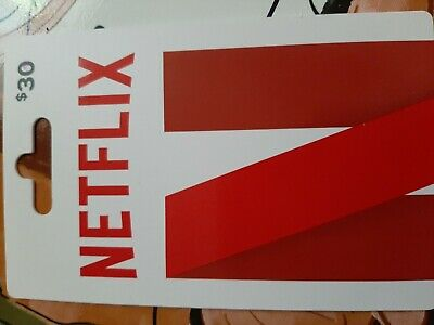 Netflix Gift Card - $30  Fast Delivery.