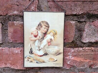 Antique Victorian photo and frame