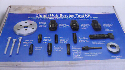 Gm Ford A/C Clutch Hub Service Tool Kit