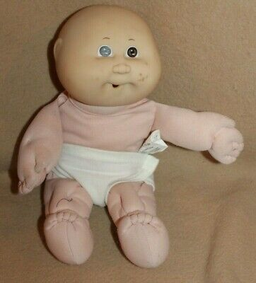 Cabbage Patch Kid 1982 Coleco Baby w/ Diaper Brown Eyes