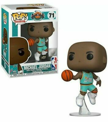 Funko Pop Michael Jordan All Star #71 Upper Deck Exclusive Brand New W/Protector