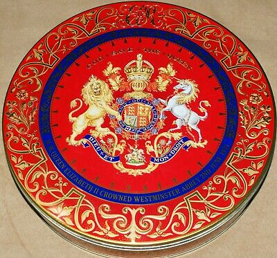Royal Coat Of Arms Tin Collectable