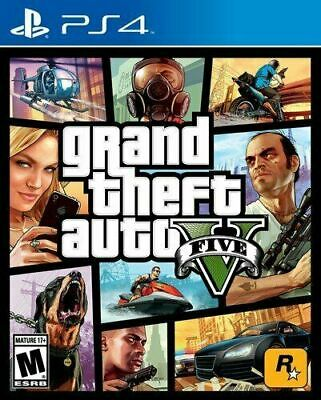 Grand Theft Auto V Predbmium Edition GTA 5 PS4 Factory Sealed Brand New