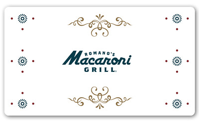 Macaroni Grill Gift Card $26.81 Value