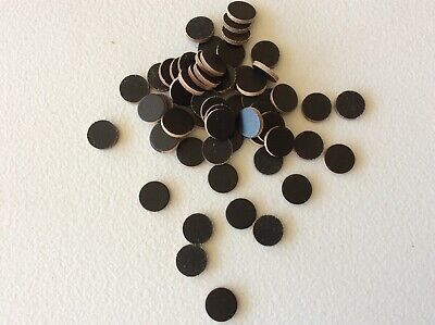 Lot Of Genuine Leather Circles, Buttons