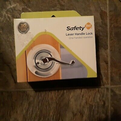 Safety 1st  Lever Handle Lock One Hand Operation