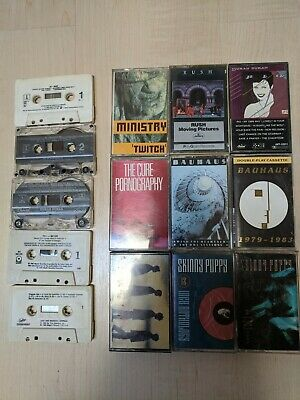 Lot of Cassette Tapes: 80s, New Wave, Synth, Electronic, Post-Punk