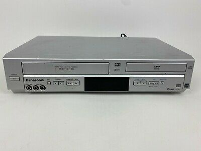 Panasonic PV-D4734 DVD VHS Combo Recorder Player Tested *No Remote