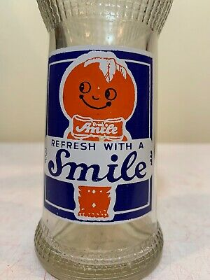 3 Color Smile Acl Soda Pop Bottle Green Bay Wisconsin 8 Oz Deco