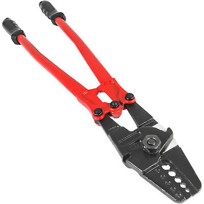 24'' Hand Swager Swaging Crimping Tool for Wire Rope Cable Swage 1/16''- 3/16''