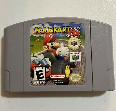 Mario Kart 64 - Nintendo 64 Authentic N64 video game CARTRIDGE only