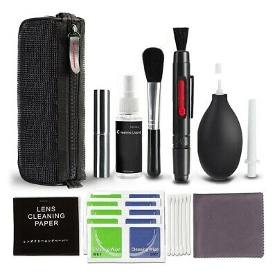 Professional 10 in1 DSLR Camera Lens Cleaning Kit for Nikon Canon Sony Panasonic