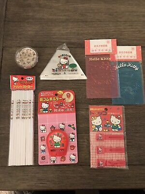 Vintage Sanrio Hello Kitty Lot