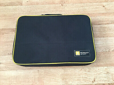 Genuine Renault Sport Cased Car Cleaning Products Kit