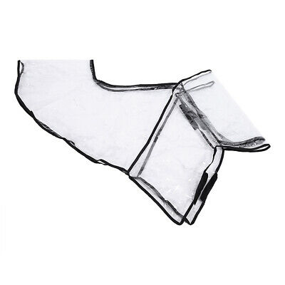 FOLDABLE STROLLER RAIN COVER PVC 95x49cm PRAM WIND DUST SHIELD