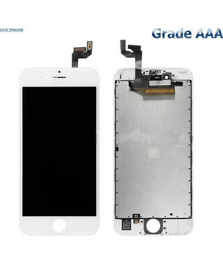 Ecran iPhone 6S Blanc LCD + Vitre Tactile Sur Chassis  - Grade AAA (Compatible)