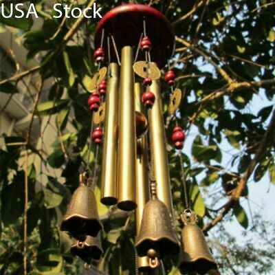 "26"" Large Wind Chimes Bells Windchime Ornament Outdoor Yard Garden Hanging Decor"