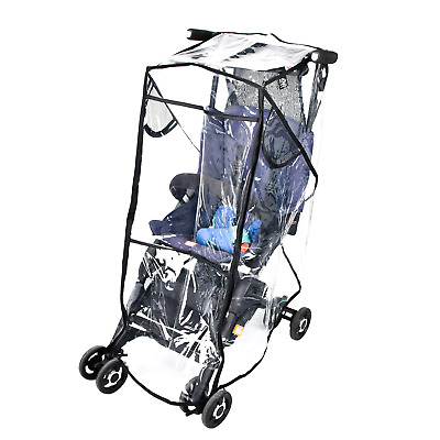 Stroller Rain Cover Stroller Weather Shield Universal Size, Waterproof, Water Re