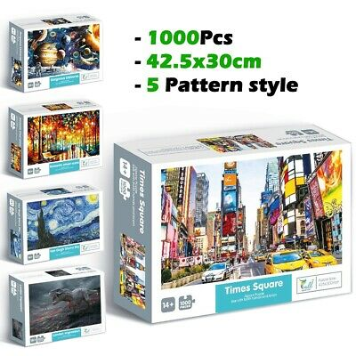 1000 Piece Jigsaw Puzzles Adult Kids Educational Puzzle Toy Gift Game Brand new