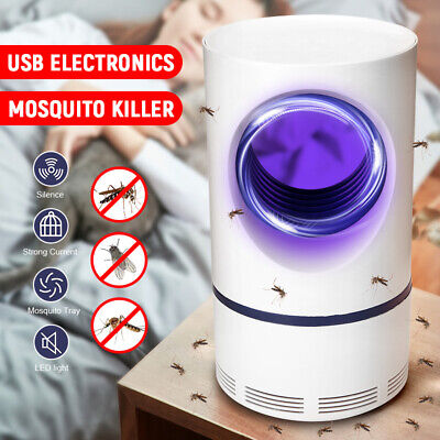 Electric Fly Trap Mosquito Killer Lamp Bug Zapper Insect Catcher Photocatalysis