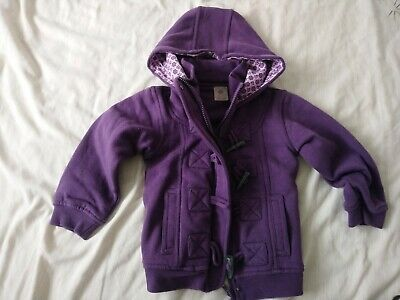 BNWOT Pumpkin Patch girls hooded coat 2-3 years