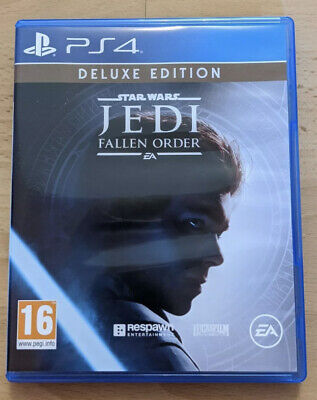 Star Wars Jedi: Fallen Order Deluxe Edition PlayStation 4, PS4 Mint Condition