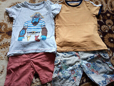 boy Marks and Spemcer summer bundle 2-3-4 years (2-3 sized) next day post