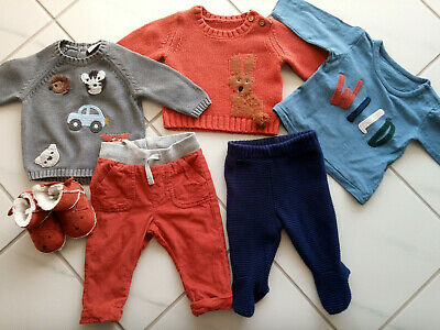 Baby boy 0-3 months bundle outfits NEXT, Marks and Spencer H&M